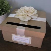 Rustic Wedding Card Box, Custom Wedding Cardbox, Handmade Card Box