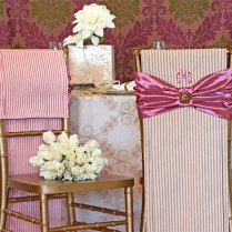 Rustic Wedding Redux Bride & Groom Chair Covers
