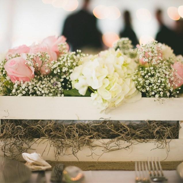 Rustic Wedding Table Decorations Ideas