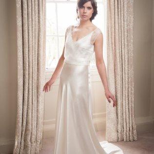 Satin Silk Wedding Dress