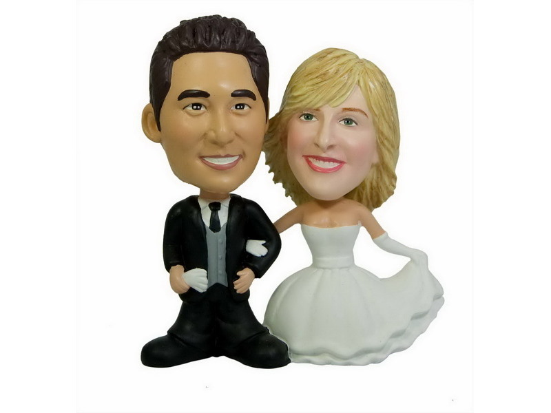 Life. There's interracial bobble head wedding toppers something is