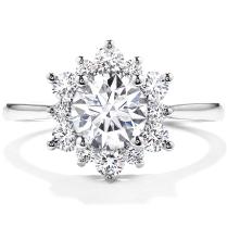 Simple Engagement Rings For Women Design
