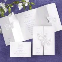 Stunning Butterfly Wedding Invitations