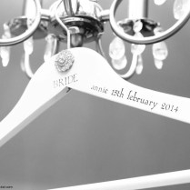 The Most Beautiful Personalized Wedding Dress Hangers