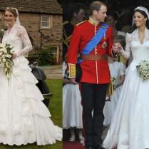 Third Time Lucky Bride Sarah Clark Wears Gran's Kate Middleton