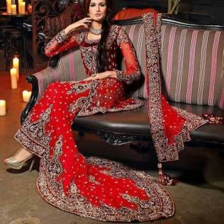 Top 5 Asian Wedding Bridal Outfits In Uk For 2016