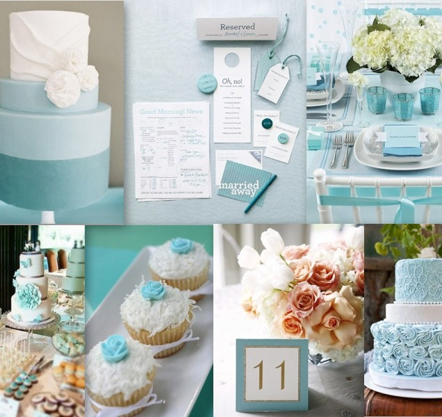 Turquoise Weddings, Turquoise And Blue Wedding Themes On Emasscraft Org