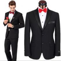 Tuxedo Groom Suit 2016 Hot Sale Grey Wedding Suit For Men Best Man