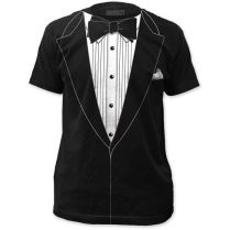 Tuxedo Tshirt Tux Funny Prom Wedding Groom Costume Outfit T Shirt
