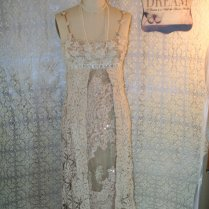 Upcycled Wedding Dress Bojo Gypsy Dress By Belladonnabohemia