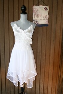 Upcycled Wedding Dress Shabby Chic Tattered By Belladonnabohemia