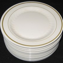 Very Cool Plastic Wedding Plates