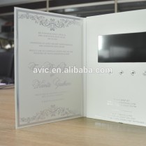 Video Brochure Cards For Wedding Invitation Gifts Events