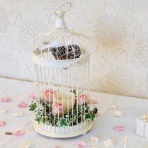 Wedding Bird Cages Decorated For Wedding