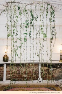 Wedding Ceremony Backdrop Ideas