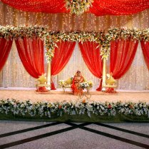 Wedding Decorations Ideas Red And White