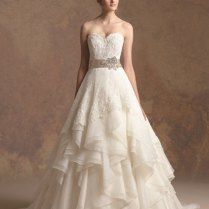 Wedding Dresses With Lace And Ruffles