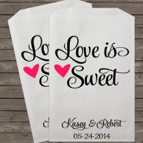Wedding Favors, Candy Buffet Bags, Candy Bar Bags, Favor Bags