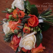 Wedding Flowers Wedding Flowers Burnt Orange