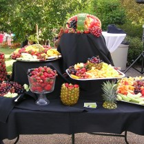 Wedding Fruit Displays