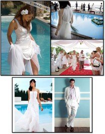 Wedding Ideas With A Swimming Pool