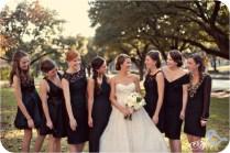 Wedding Party Black Dresses
