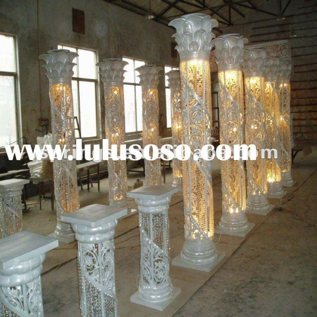 Wedding Pillars Decorations On Decorations With Pillars For