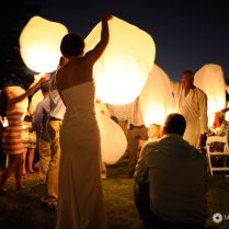 Wedding Sky Lanterns