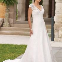 White Simple Bridal Dress Designs