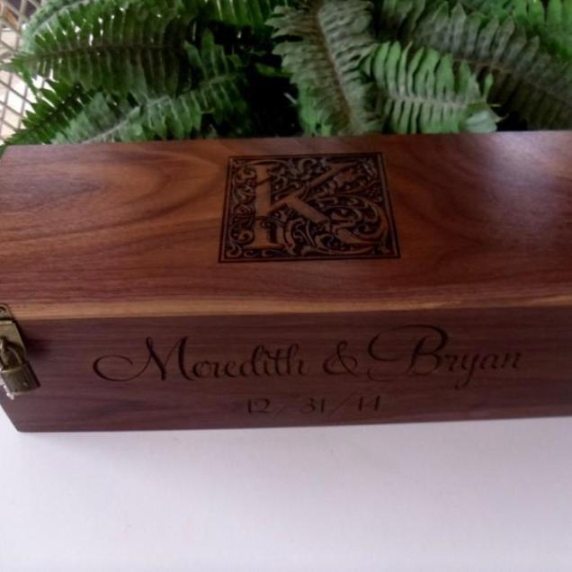 Wine Box, Custom Wine Box, Wedding Wine Box, Wedding Gift 2427255