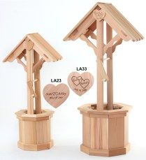 Wooden Wishing Wells By All Things Cedar Wedding Gift Furniture