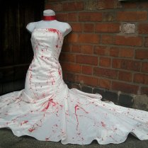 Zombie Wedding Dress Costume