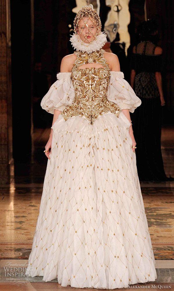 Alexander Mcqueen Wedding Dresses.Alexander Mcqueen Wedding Dress