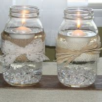 1000 Ideas About Burlap Candles On Emasscraft Org