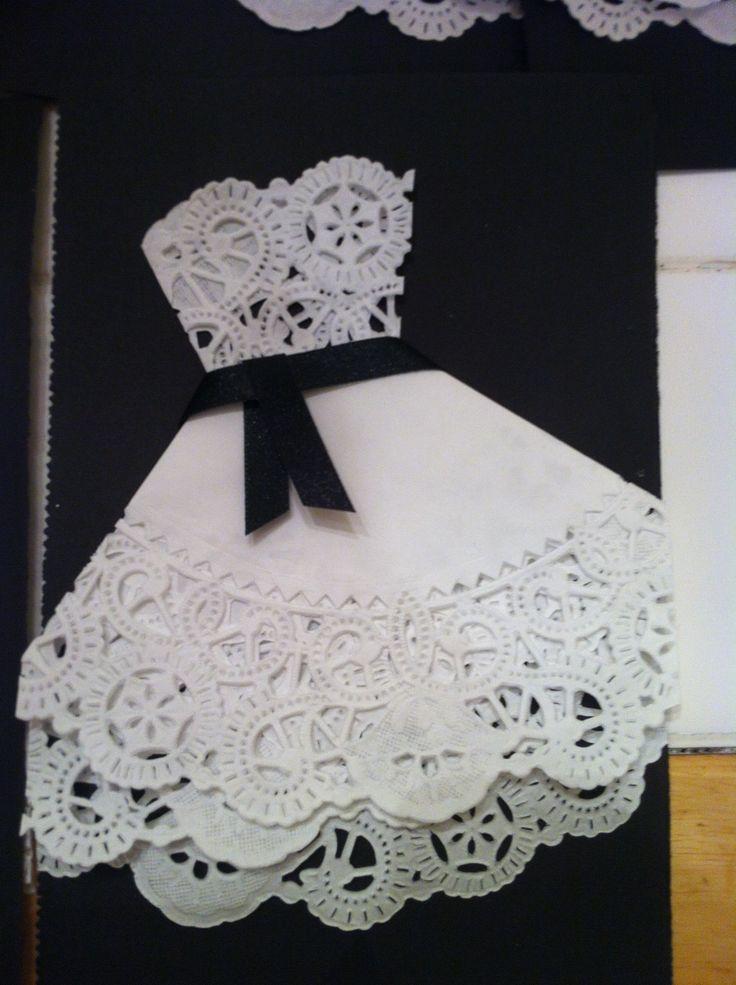 Paper Doily Wedding Decorations