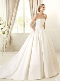 1000 Ideas About Satin Wedding Gowns On Emasscraft Org