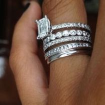1000 Ideas About Stacked Engagement Ring On Emasscraft Org