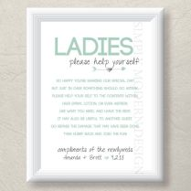 1000 Ideas About Wedding Bathroom Signs On Emasscraft Org