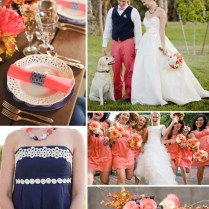 1000 Images About Blue And Pink Navy And Coral Wedding Ideas