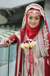 1000 Images About Bridal Hijab Styles On Emasscraft Org