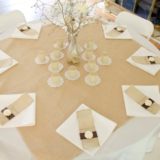 1000 Images About Burlap Tablecloths For Weddings & Special