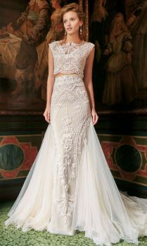 1000 Images About Crop Top Two Piece Wedding Dresses On Emasscraft Org