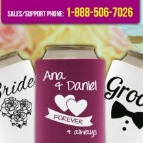 1000 Images About Custom Wedding Koozies On Emasscraft Org