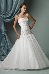 1000 Images About Fit & Flare Dropped Waist Wedding Dress On