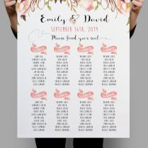 10 Best Ideas About Seating Chart Wedding On Emasscraft Org