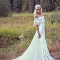 17 Best Images About Bohemian Style Wedding Gowns On Emasscraft Org