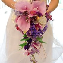 17 Images About Waterfall Wedding Bouquet On Emasscraft Org
