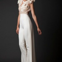 25 Unconventional Bridal Pants & Suits For The Modern Bride