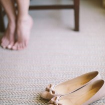 27 Cute Flats For Brides On Their Wedding Day!