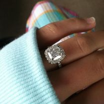 30 Lucky Brides Show Off Gorgeous Engagement Rings